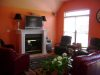 Great room living area after 3 shades of coral,