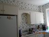 Laundry before wallpaper removal
