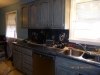 Gray Antiqued Cabinets After