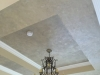 Tray Ceiling After Faux finish with Metallic glazes