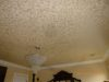 Pearlized Tone on tone/bedroom ceiling