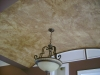 Old world leather-look - Barrel ceiling