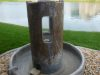 Antiqued water fountain