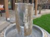 Raw concrete Contemporary water fountain