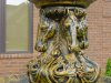 Multi-Horse water fountain in faux baroque finish