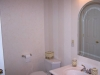 Master bath/Dual feathering with satin striping