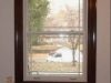 Window casing after faux wood grained