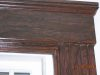 Close-up of Window casing,after faux wood grained