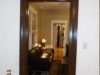 Foyer doorway after faux wood grained