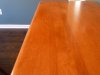 Buffet top refinished