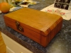 Restored wooden box