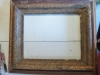Antique 100- year- old frame before