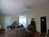 Family room repainted/different view