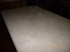 Marbleized counter top