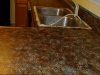 Faux Granite resurfacing in Chocolate