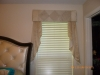 Detail/Padded wood-mounted Cornice with cascades
