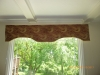 Valance for picture window